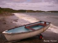 Boat in Morga Nefyn - Wales
