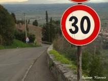 carrer a la Toscana