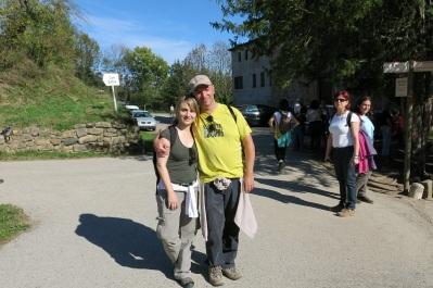 Con Marta en Can Batlle