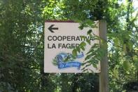 Cartel de la Cooperativa La Fageda