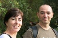 El guia y la Miriam