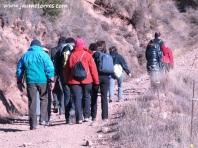 Subiendo a Puig Caritat