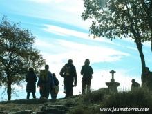 Contraluz grupo en Puig Caritat