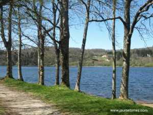 Lac des Montagnès - camino