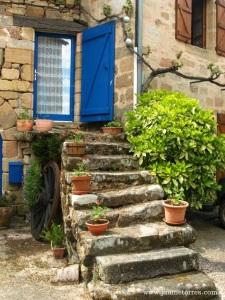 Cardaillac - escaleras