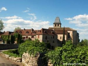 Loubressac - pueblo