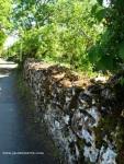 Loubressac - muro