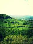 Loubressac - desde el pueblo