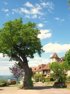 Loubressac - entrada pueblo