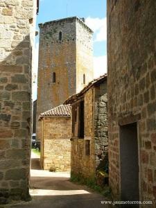 Cardaillac - calles y torre defensa