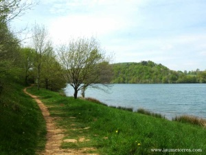 de ruta por el lago