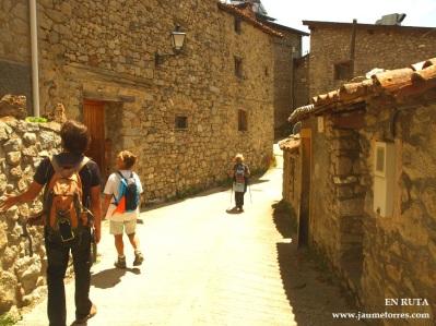 Detalle pueblo de Aranser