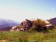 Roca con vistas al Cadí