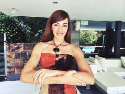 actriz y modelo Irene Suarez