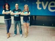Diamond Heels entrena en el Teatre Llantiol de Barcelona