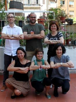 el equipo de la ONG Sonrisas de Bombay