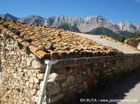 Detalle tejado en Estana