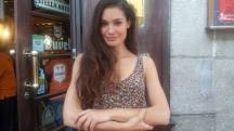 La actriz Jessica Alonso