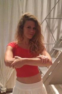La actriz Rebeca Valls