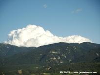 Cumulonimbus desde Prullans